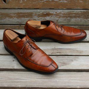Cole Haan Brown Calf Split Toe Derby, 13 M, GUC